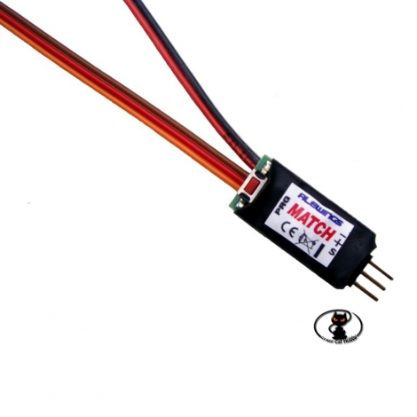 90020303 Y-cable with Alewings servo center and end rotation control