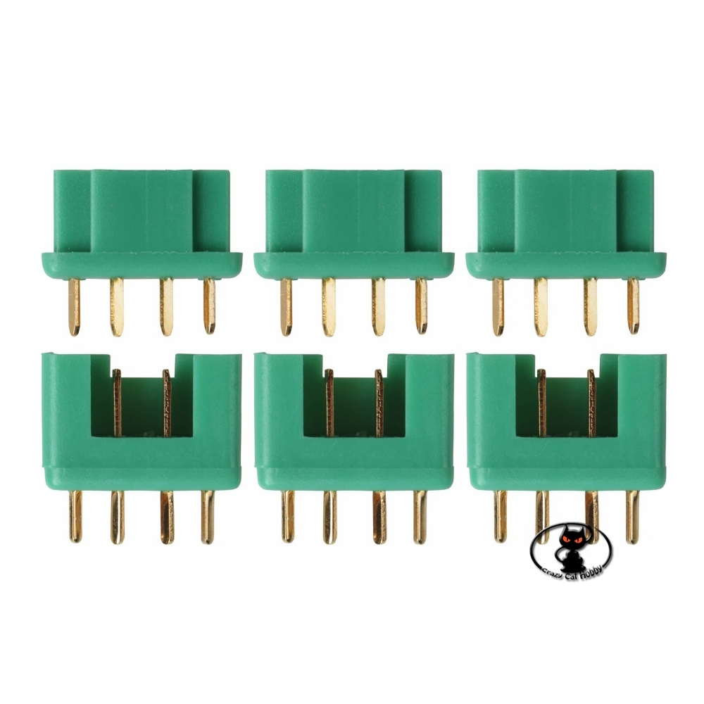 AM-617-3P Multiply MPX Multiplex connector for receivers, battery, on-board electronics. pack 3 pairs