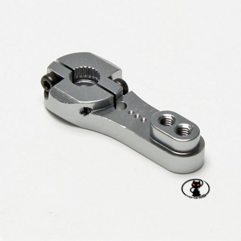 Aluminum bracket for Futaba servocontrols 35 mm. high strength for heavy duty.Holes with M3 thread