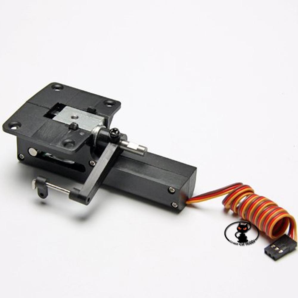 C6903 Macchinetta per carrello retrattile elettrico sterzante foro asse di fissaggio 4 mm
