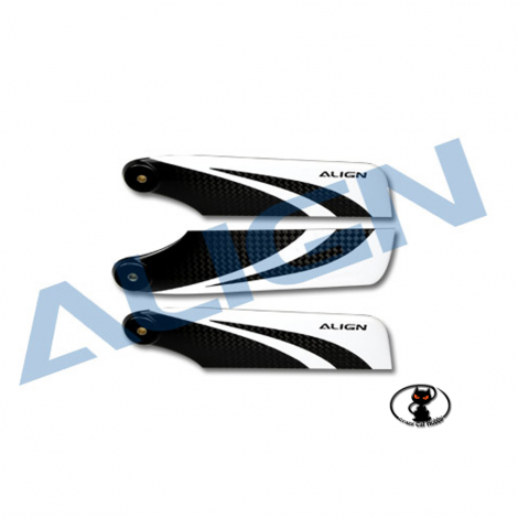 Set of 3 tail blades for 3 blades-tail rotor HQ1050C Align