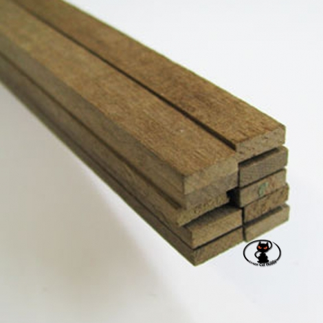 80006 Walnut strip 1x5x1000 mm