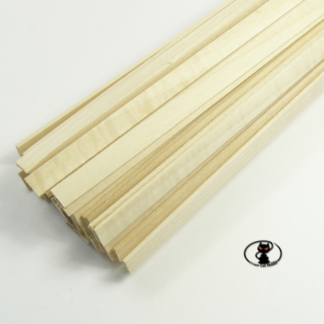 Linden strip 5x5x1000 mm