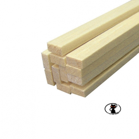 85807 Balsa strip 10x10x1000 mm