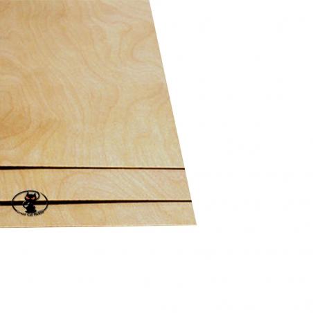 88201 Compensato di betulla spessore 0.4 mm. dimensione foglio 200x600 mm