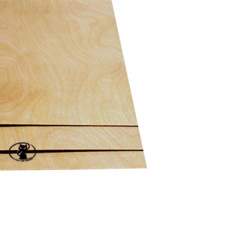 88205 Compensato di betulla spessore 1.5 mm. dimensione foglio 200x600 mm