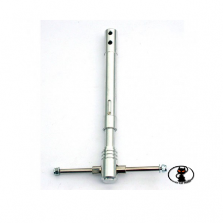 CAR / 15171/000 Double Axis Telescopic Trolley mm130 in shock-absorbed aluminum