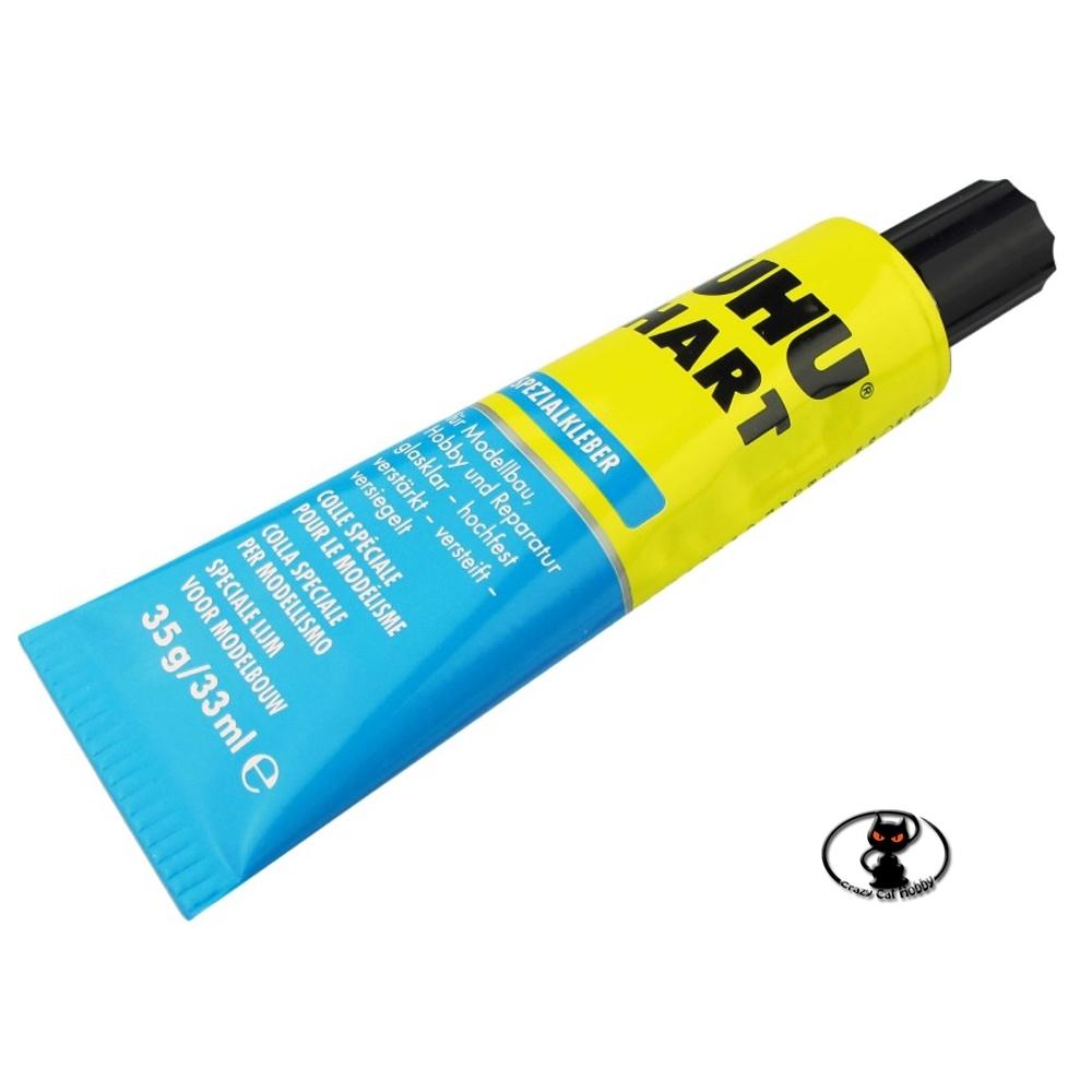 UHU HART colla trasparente per modellismo - blister 35 ml - 45510