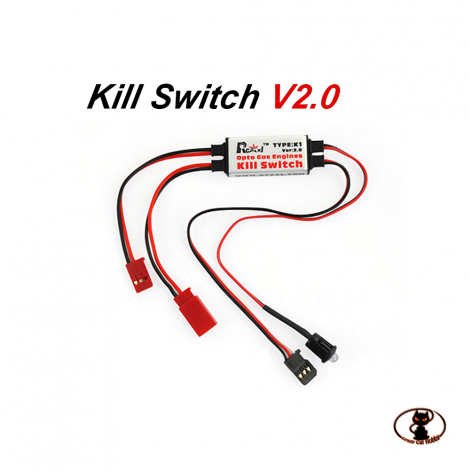 RCEX30OPTO un interruttore elettronico che consente lo spegnimento del motore immediato