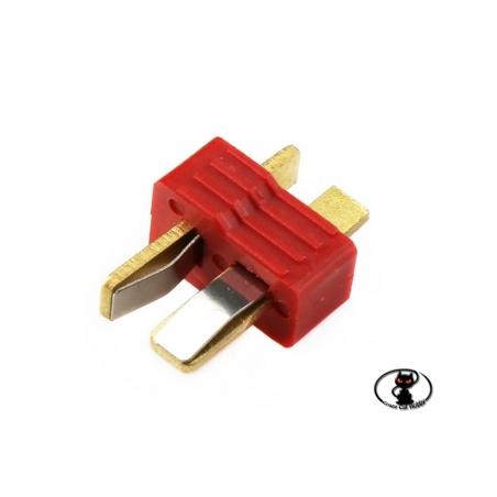 CCH054 AM-615-10M Connettore deans maschio per BEC e prolunghe