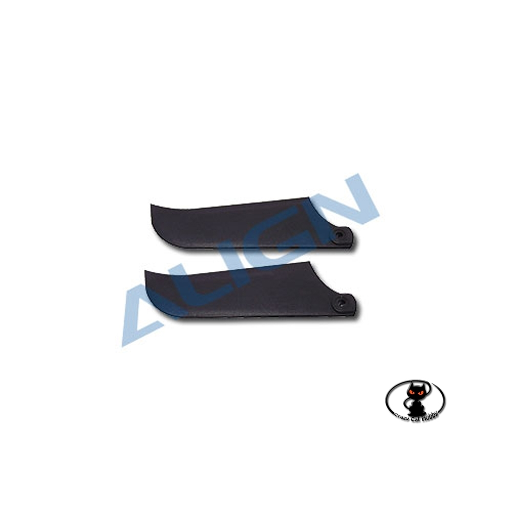 Align tail rotor blades in thermoplastic material for T Rex 600 and for all class 600 helicopters HQ0903AT