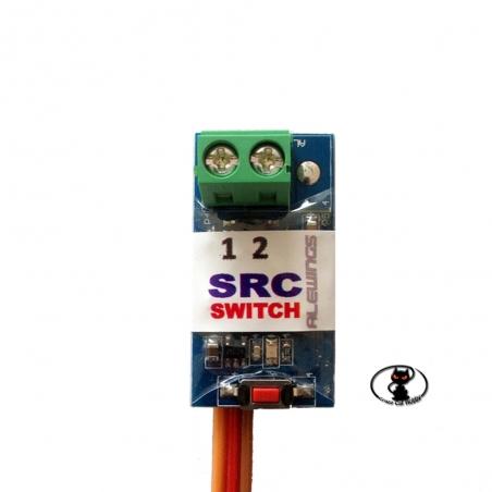 Alewings SRC Evo switch interruttore elttronico comandato da radio utilizzabile per molteplici usi supporta 10A 90040212