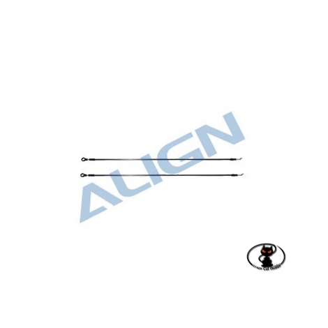 Tail linkage rod for align t rex 450 and clones HS1017-00