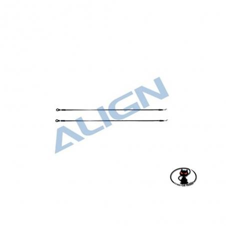 tirante comando di coda T Rex 450 Align e cloni ricambio
