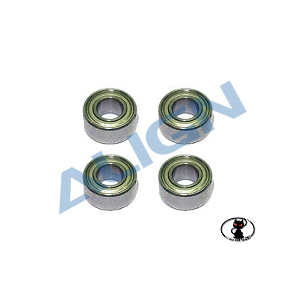 Ball bearings for main shaft Align T Rex 450 and clones HS1028