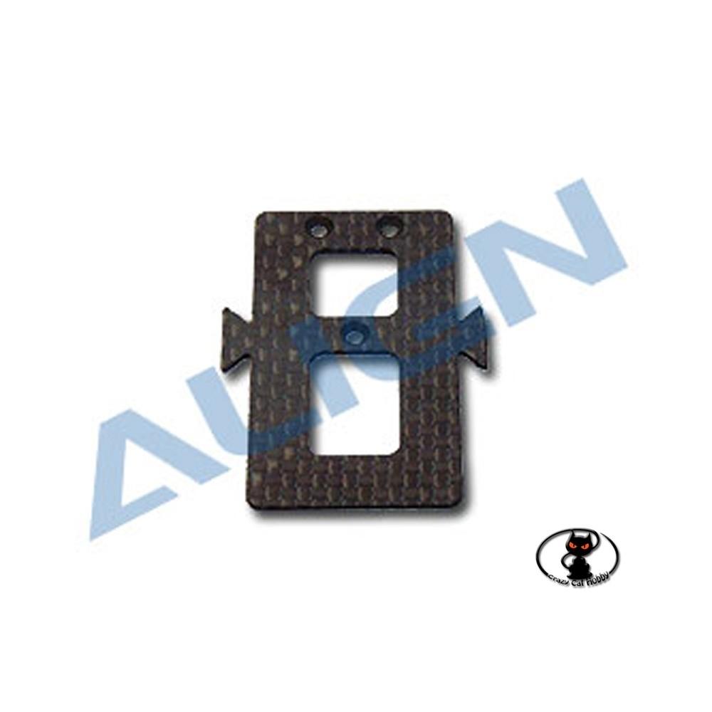 supporto batteria in carbonio per t rex 450 align e cloni HS1123-00