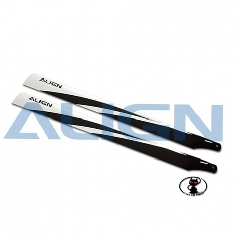 Carbon fiber blades for all helicopters class550 - Align HD550B