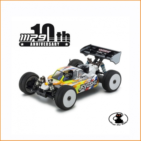 KYOSHO INFERNO MP9 TKI4 10TH ANNIVERSARY SPECIAL EDITION THE BUGGY 1: 8 - 8 TIMES WORLD CHAMPION!
