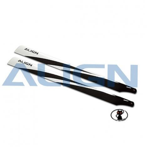 HD600E ALIGN HD600E 600 mm carbon fiber blades