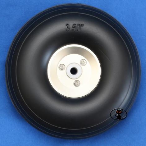 Rubber wheel diameter 89 mm...