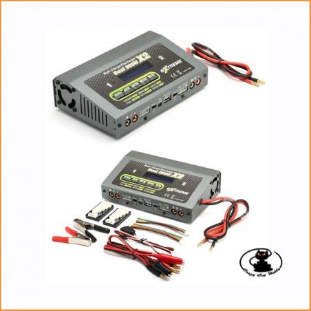 caricabatterie doppio Extreme - SkyRc - 200 watt x 2 - SK-100061-01