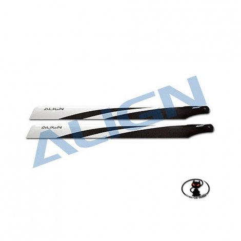align 325 mm carbon fiber blades for all 450 class helicopters