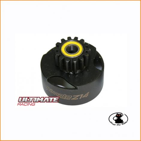 Ultimate campana frizione ventilata 14 denti con cuscinetti UR0662 per macchine RC