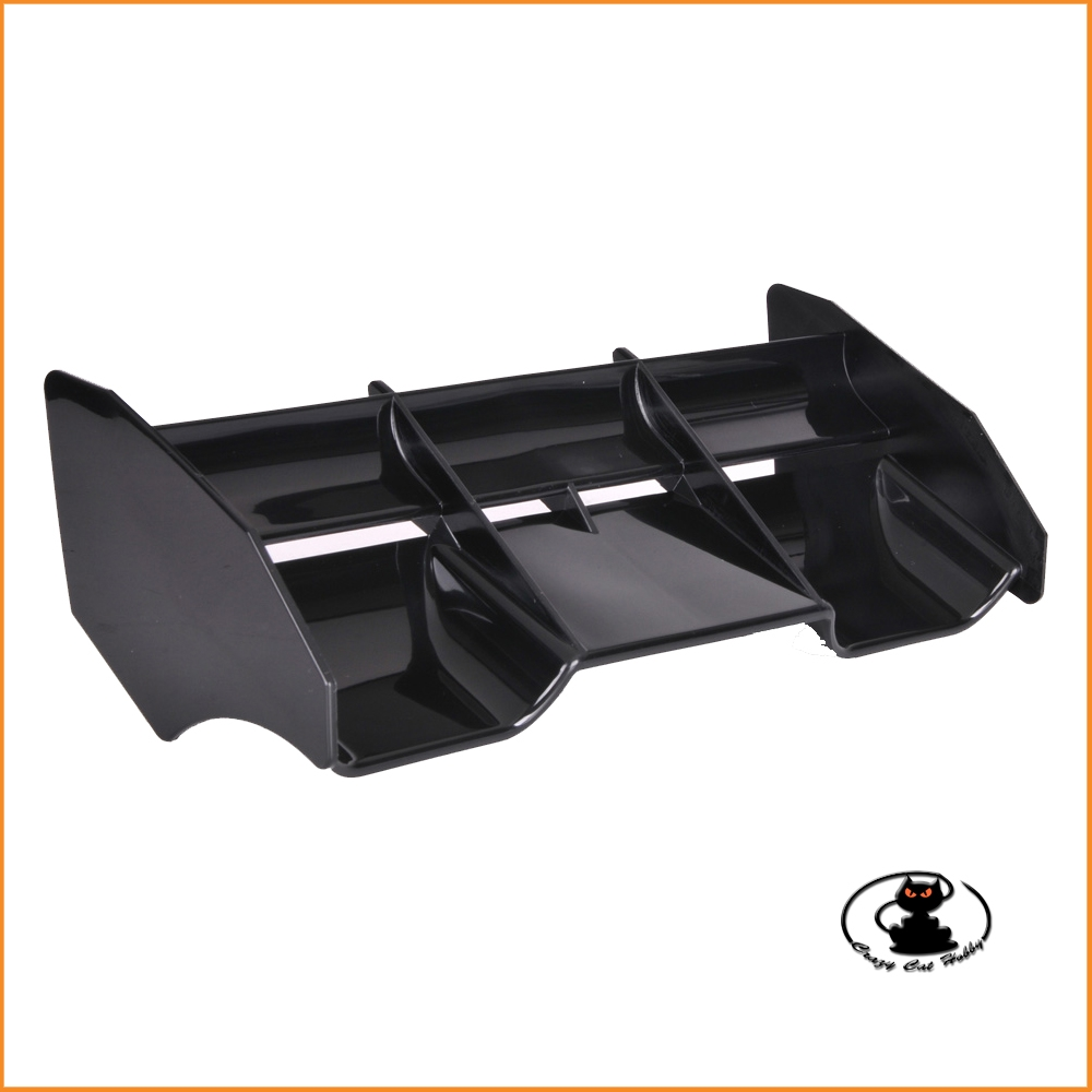 Universal black aileron, for 1: 8 buggy