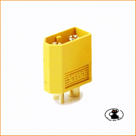 Gold connector XT60 male