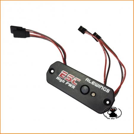 ESC Hight PWR 15A Interruttore elettronico stabilizzato Alewings 90030210