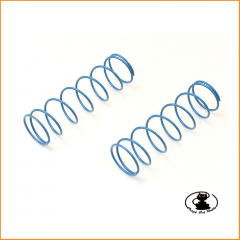 Big shock spring 8x1.4 (78mm) light blue- Kyosho IFW457-814