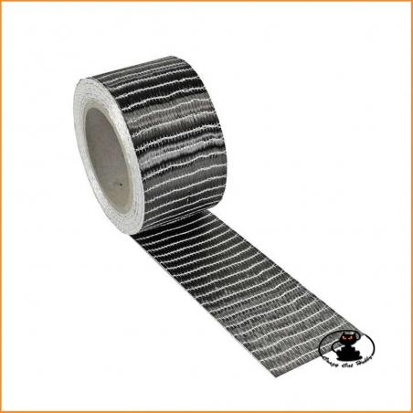 R & G Unidirectional carbon tape 250 gr / m² 50 mm x 2 m 112601-2001592