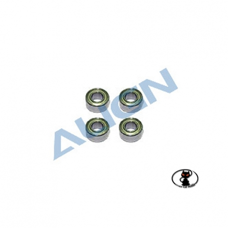 ball bearings for t rex 450 and general use mm 3x6x2,5 align HS1030
