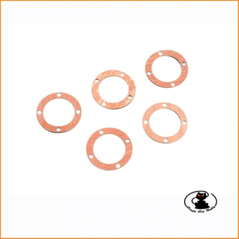 Differential case gaskets Kyosho Inferno Mp9 K.IF404-01