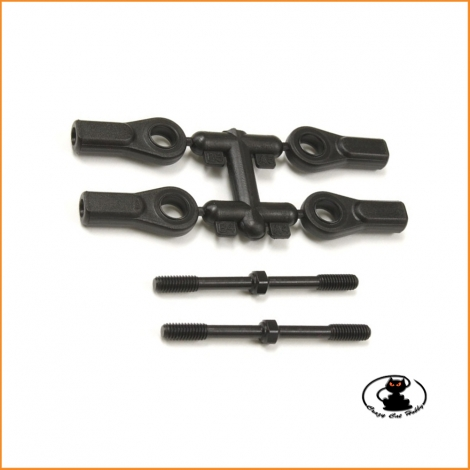 Kyosho Inferno Mp9TKI4 4x50mm steering rod set IF489