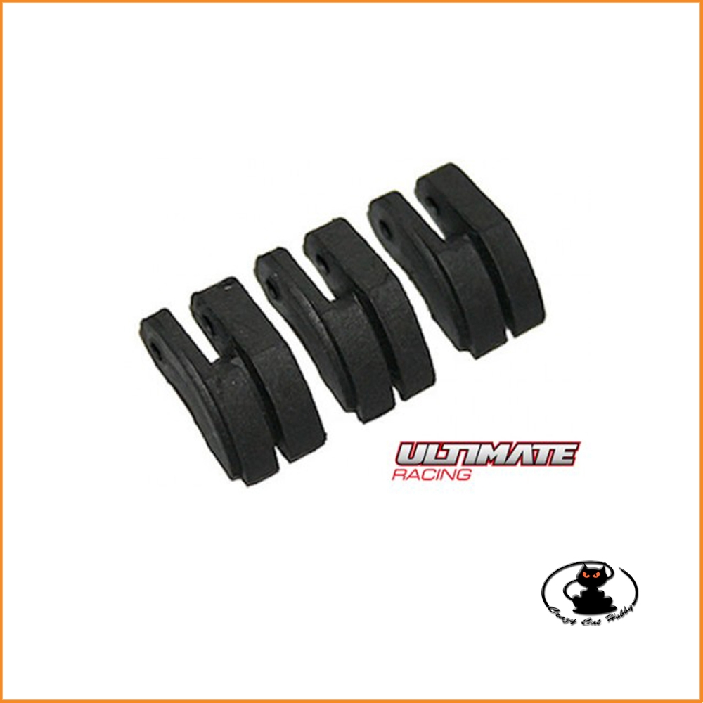 Composite clutch shoe for 3 shoes clutch Ultimate UR1121