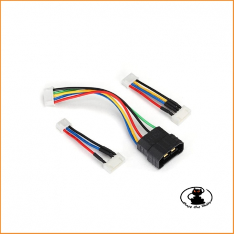 Adapter for reading battery cells liPo Traxxas ID