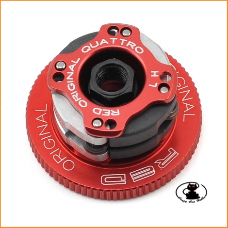 Fioroni Option Team Clutch Quattro Original Red Diameter 34 mm OT-FR104-R34