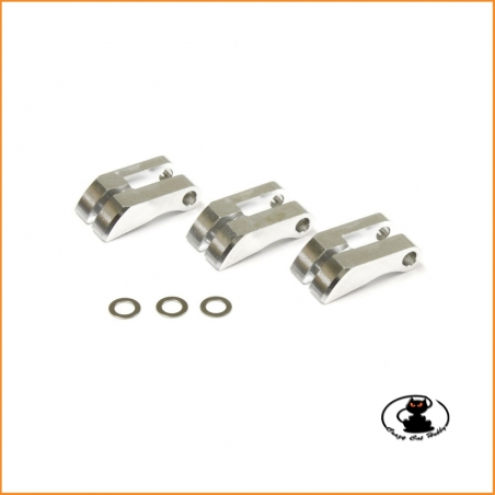 KY.IFW339 replacement clutch shoe 3 points aluminum Kyosho