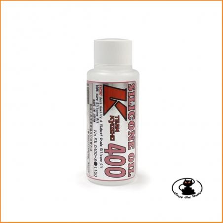 Olio al silicone 400 CPS per ammortizzatori (80cc) Kyosho SIL0400-8