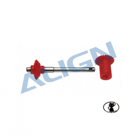 Tapered rear rotor T Rex 550 600 Align red Can be used on all T Rex series 550 600 H60G003AXT