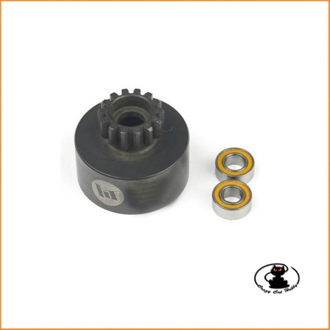 Clutch bell 16T with 2 ball bearing HT560226 Hobby Tech