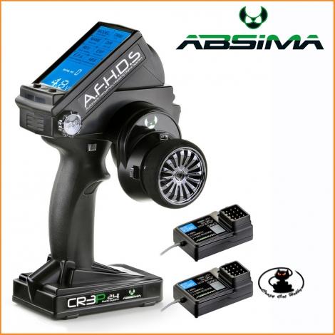 radioa volantino 3 Canali Absima CR3P  2.4GHz incluse 2 Receventi 2000102
