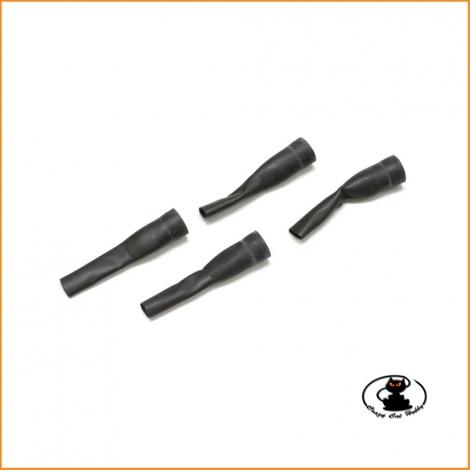 IFW154 Cuffie Protezione Ammortizzatori Big Bore 1:8 Kyosho MP9 MP10