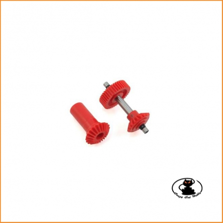 T Rex 600 coppia conica frontale M0.6 40T - H6NG001AX
