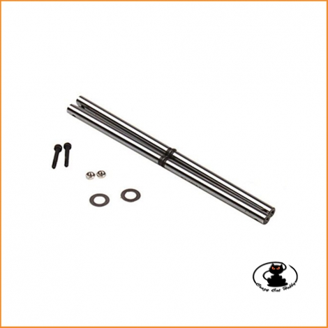 Main shaft set in steel Align T Rex 450 Pro - Sport V2 - H45022AT