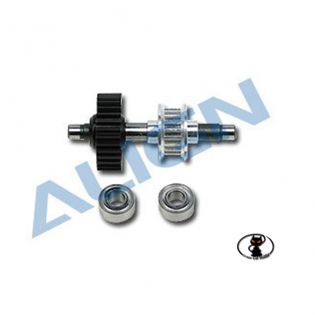 Align T Rex 500 tail drive gear assembly with ball bearing spare parts  H50043