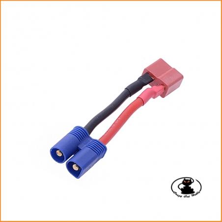 Adattatore deans femmina / EC3 maschio per batterie ed ESC - Fullpower 356735