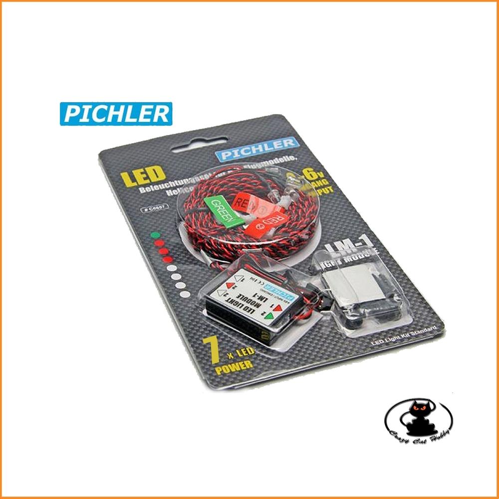 Luci navigazione con 7 LED - Pichler C6557