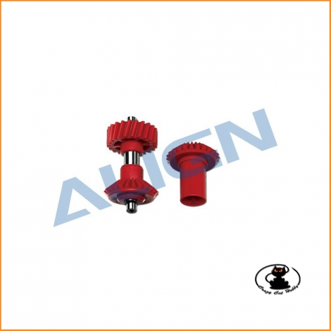 H70G001BX M1 Torque Tube Front Drive Gear Set/22T